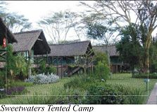 Sweetwaters Luxury Tented Camp.