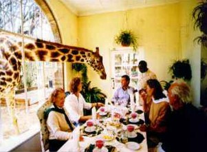The Giraffe Manor Luxury hotel Nairobi
